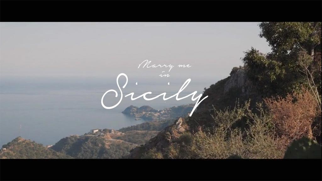 Marry Me in Sicily Video